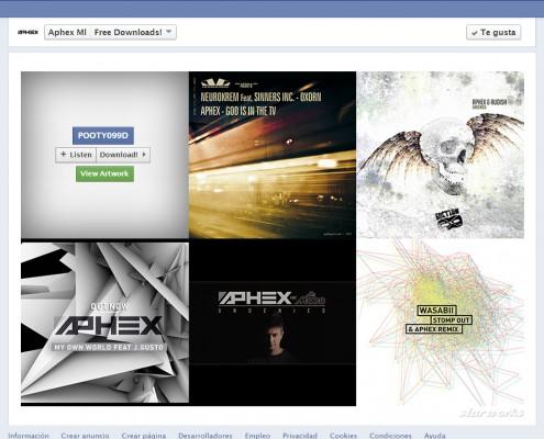 Aphex Facebook Fanpage