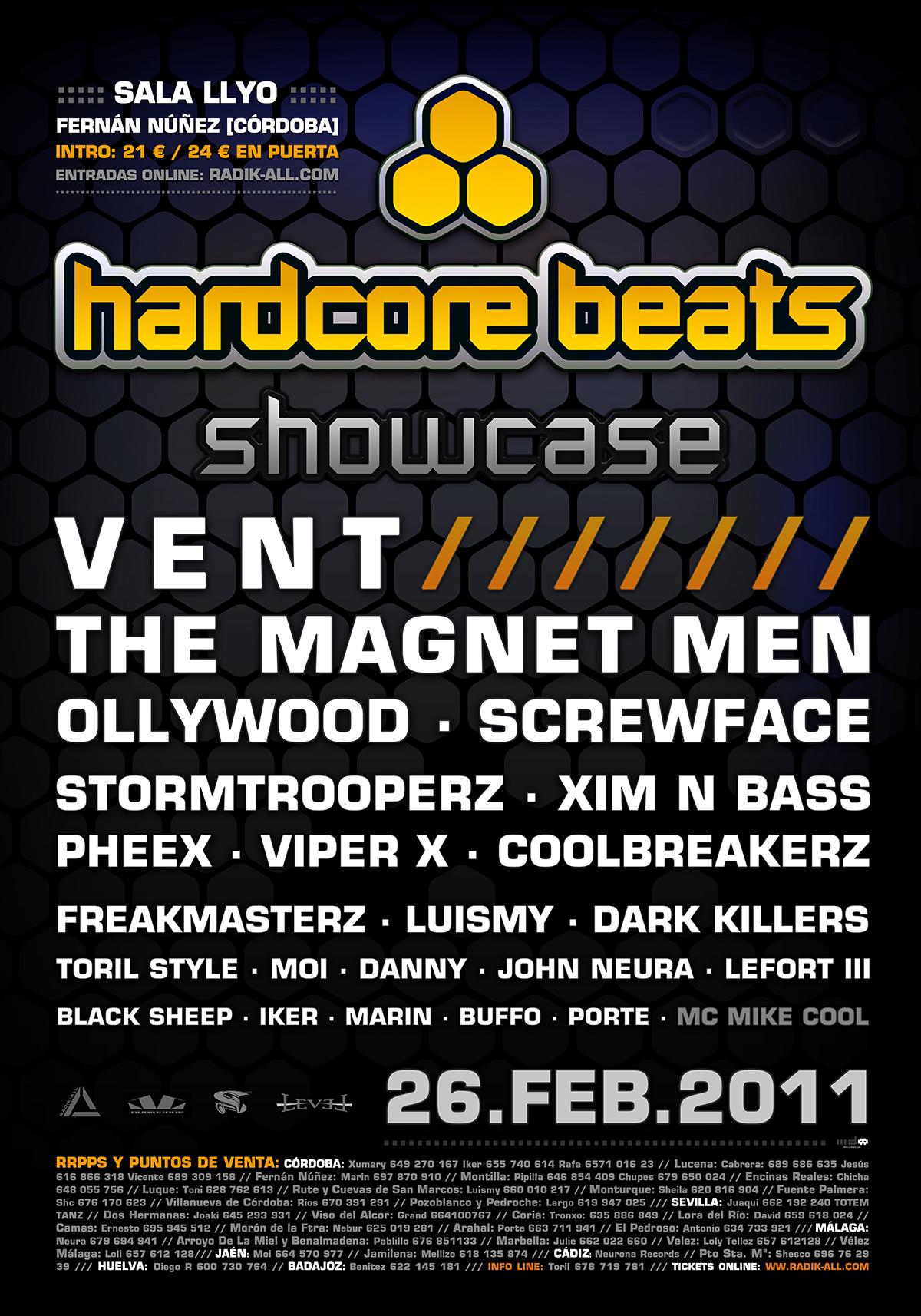 hardcore beats 2011