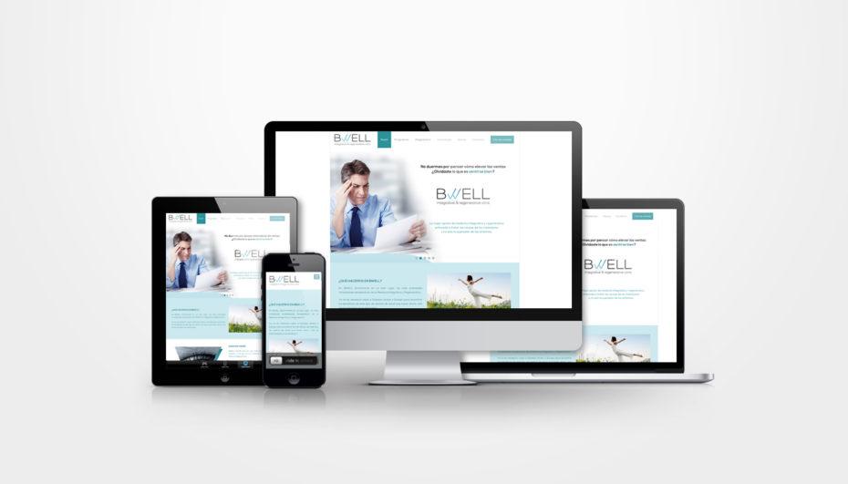 Bwell · Diseño Web para Clínica de Medicina Integrativa y Regenerativa