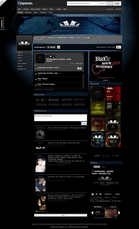Audiogore Myspace v2