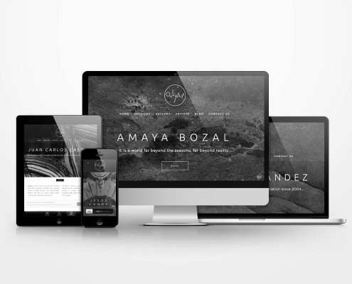 Diseño Web para consultoría de arte
