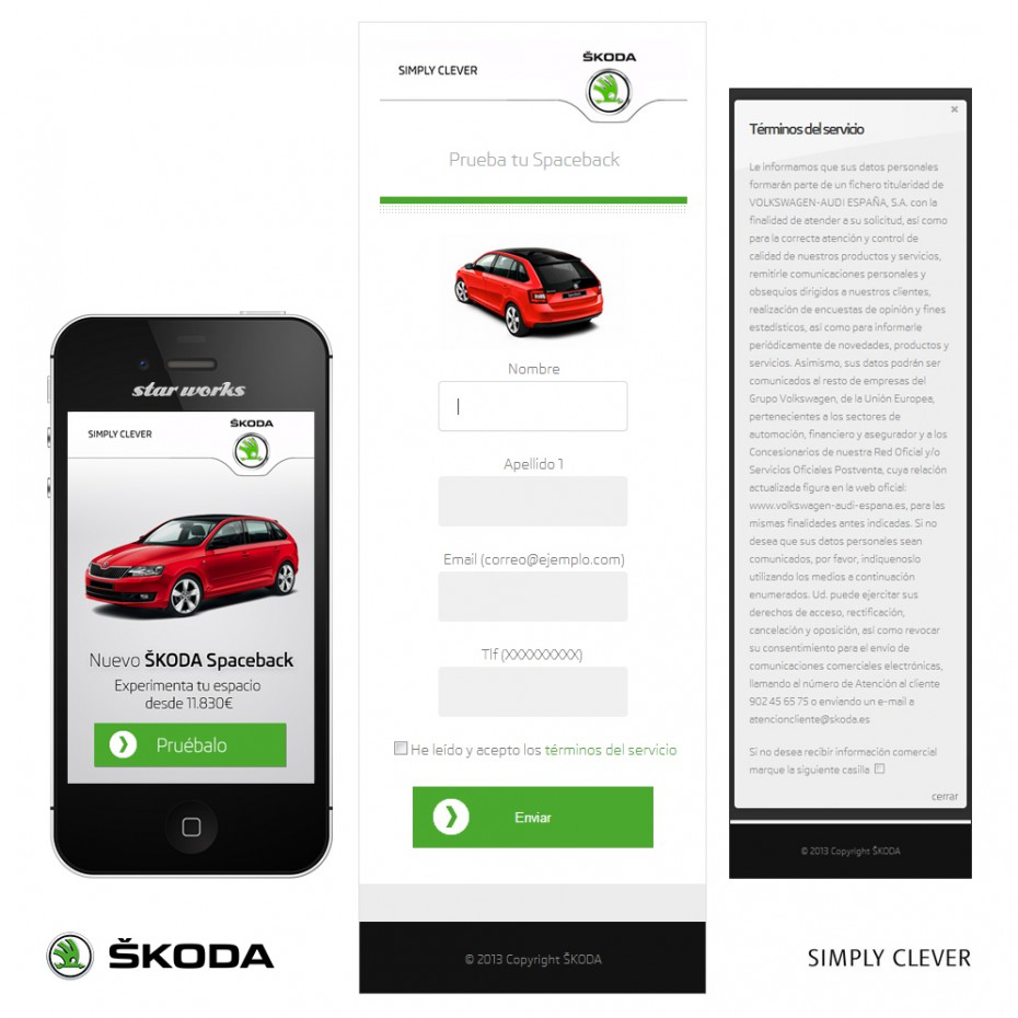 Marketing mobile | Campaña CRM | Skoda