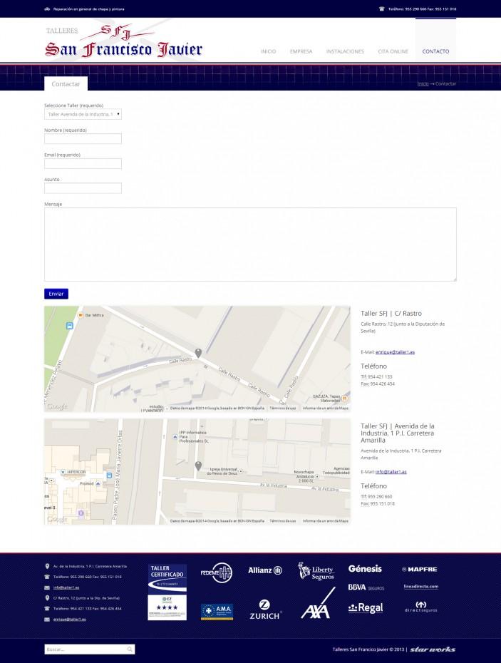Talleres San Francisco | Diseño web profesional